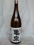 亀泉 本醸造 1.8L