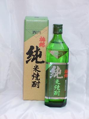 梅錦 純米焼酎 35%  720ml