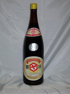 山川醤油 濃口 1.8L